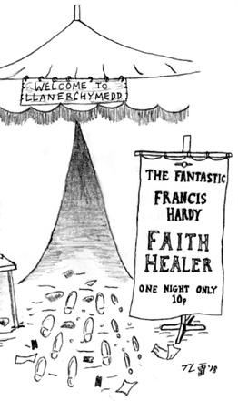 Staged Reading of FAITH HEALER by Brian Friel, August 19th